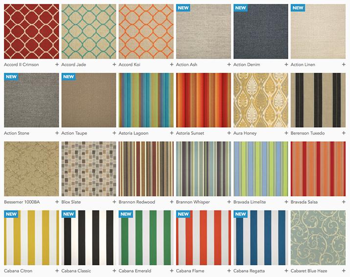 Seasonal Concepts Sunbrella Fabric
