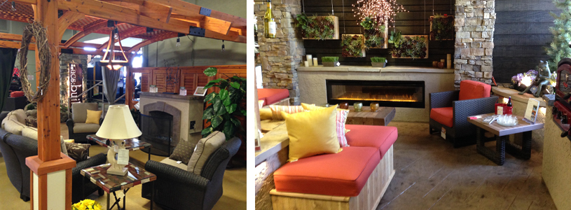 We Also Have A Showroom At Our Landscape Partner Location R J Lawn Seasonal Concepts