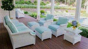 Lloyd Flanders Spring Wicker Patio Furniture