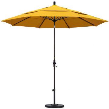 11′ Market Umbrella with Crank Lift – 20 colors available