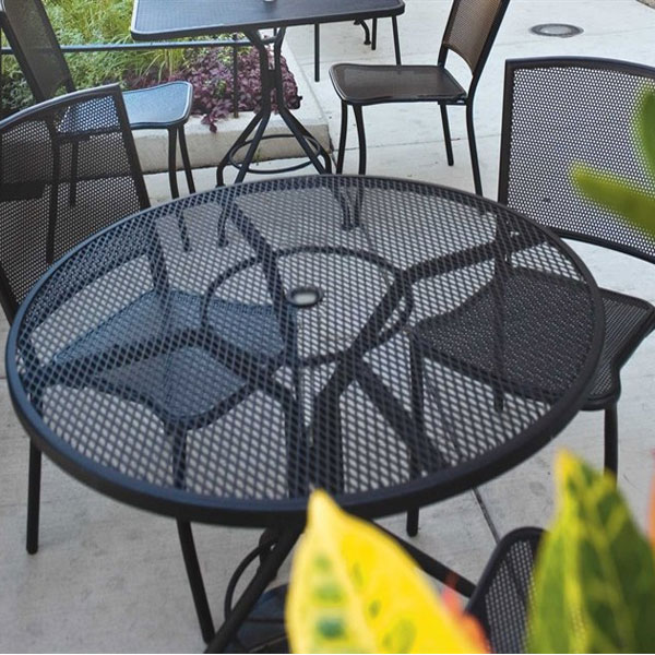 Seasonal Concepts Albion Iron Cafe Series 5 Piece Dining By Woodard Seasonal Concepts
